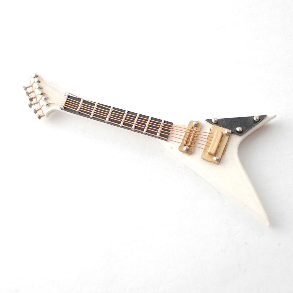 White Jackson Electric Guitar