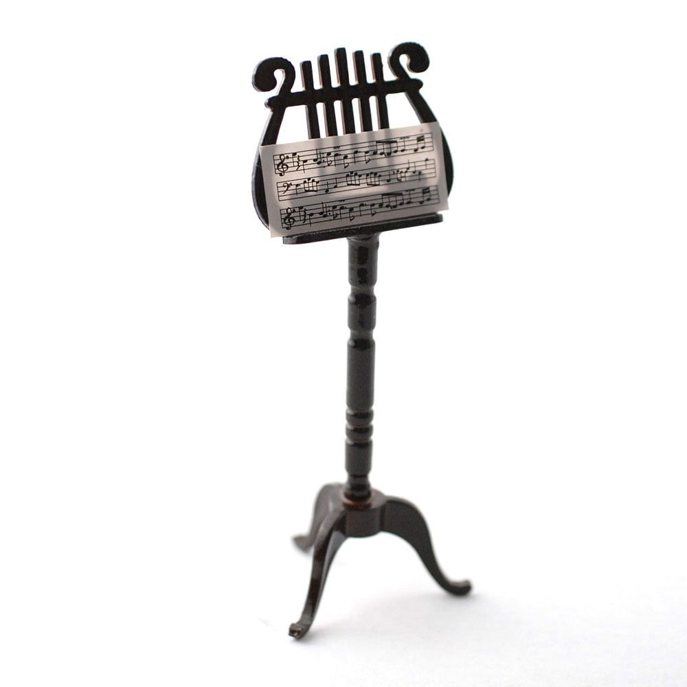 Ornate Wood Music Stand
