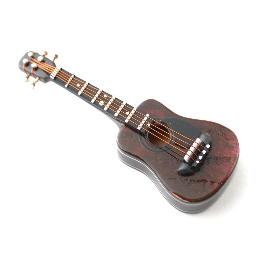Acoustic Guitar with Black Case