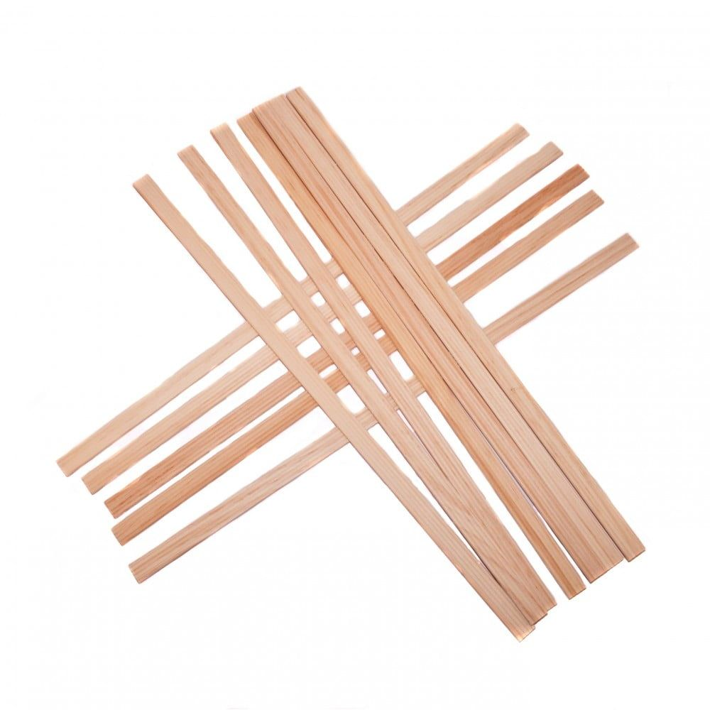 1:12 Scale Dolls House Decking Planks (Pack of 12)