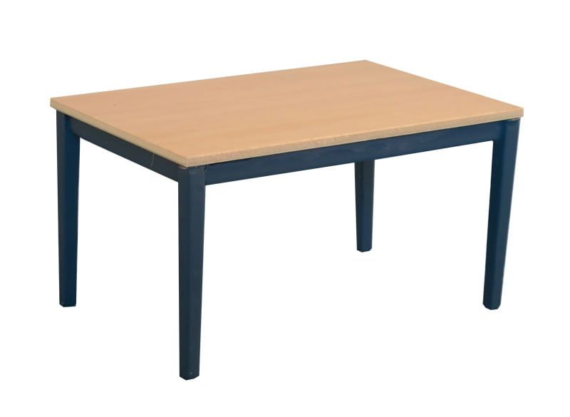 Shaker Style Table Blue/Pine