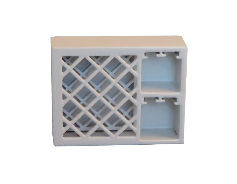 12th Scale White Wine Rack For Dolls Houses