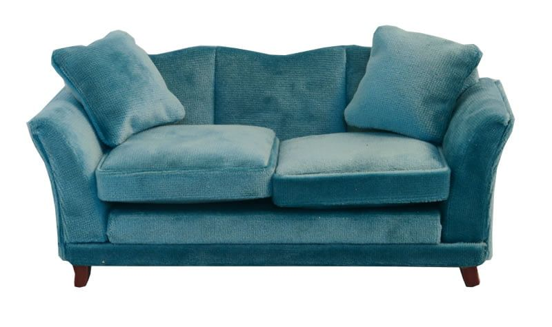 Teal Modern Sofa