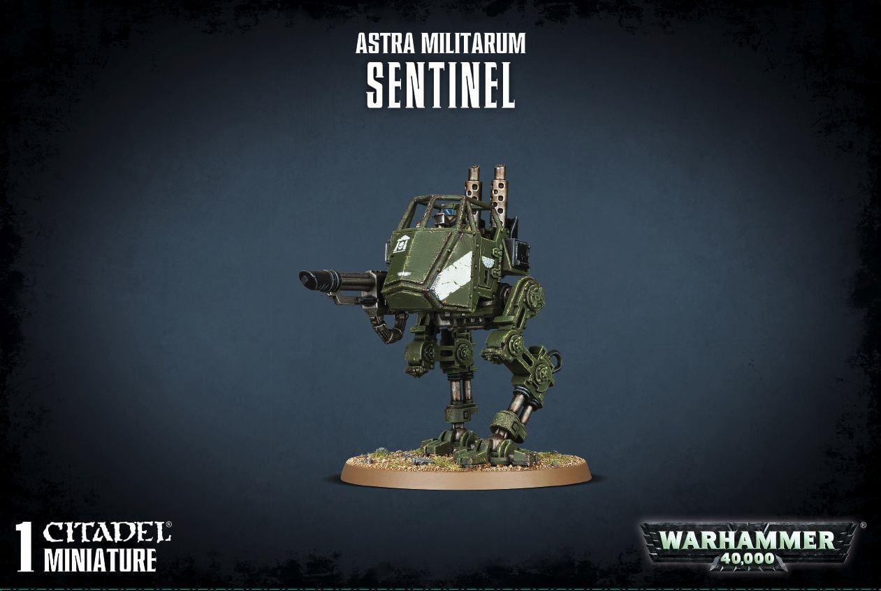Warhammer Astra Militarum Sentinel