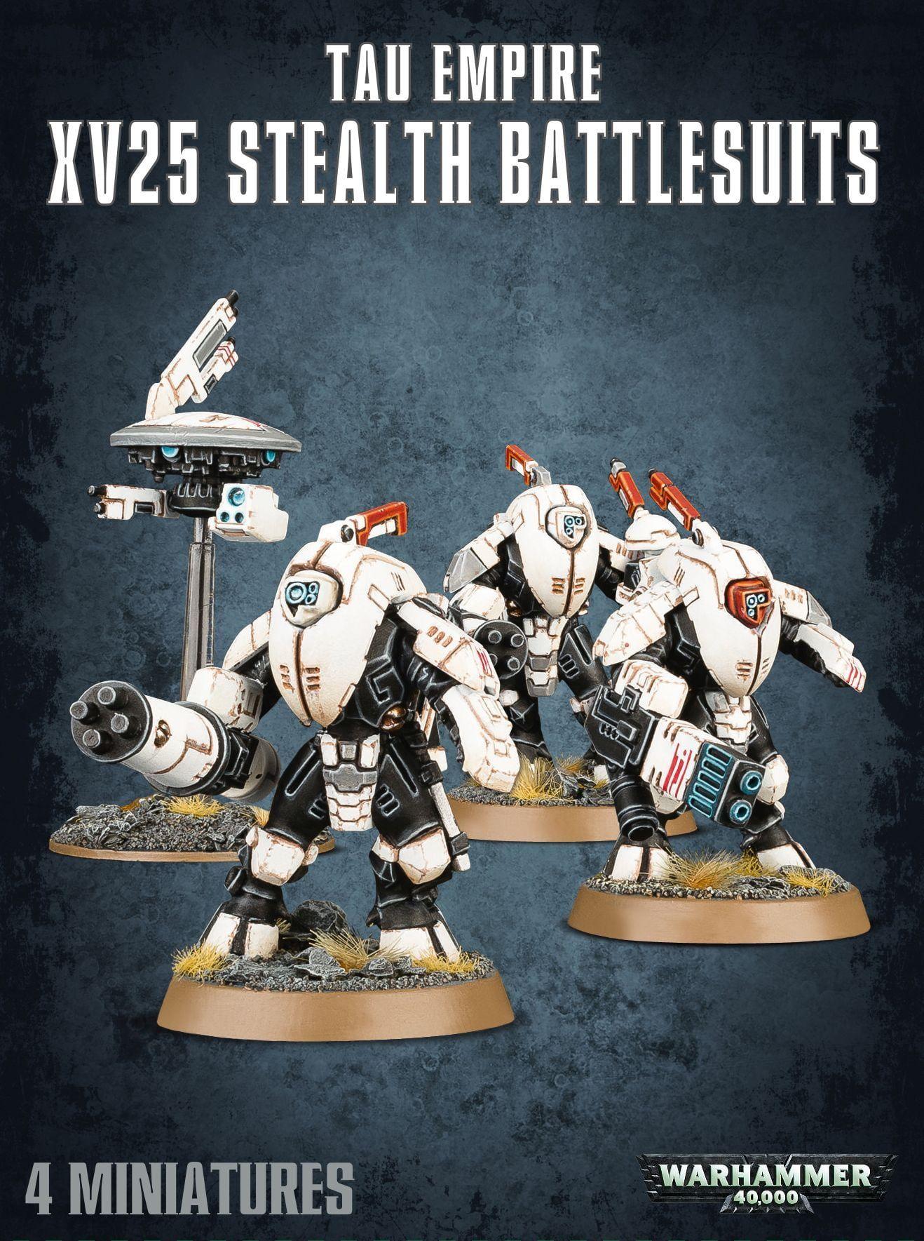 Warhammer Tau Em XV25 Stealth Battlesuits