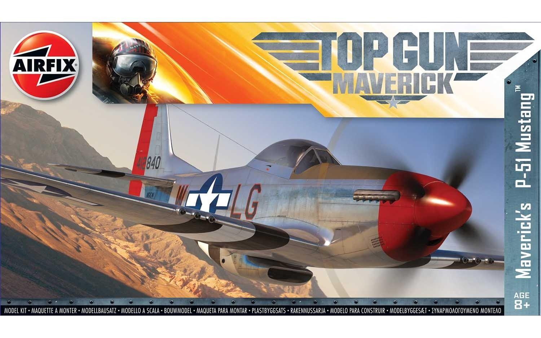 Airfix Top Gun Maverick P-51D Mustang