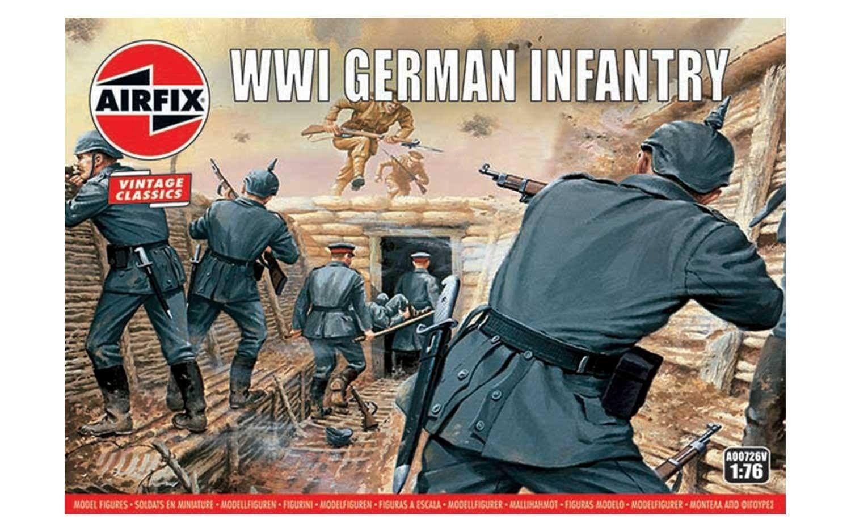 Airfix WW1 German Infantry 1:76 Scale Plastic Model Kit