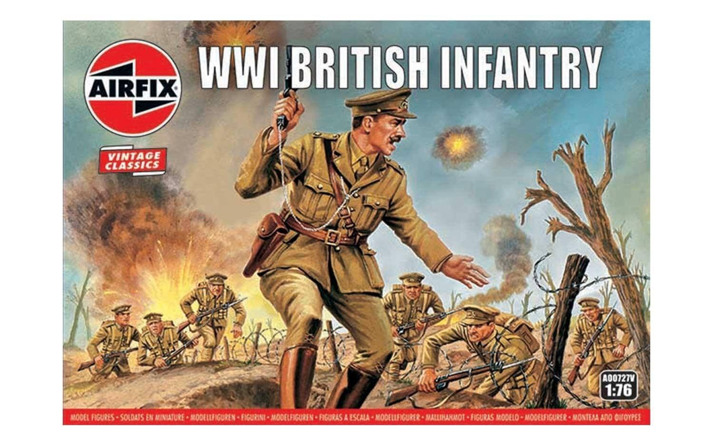 Airfix WW1 British Infantry 1:76 Scale Plastic Model Kit