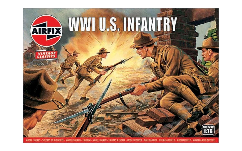 Airfix WW1 U.S Infantry 1:76 Scale