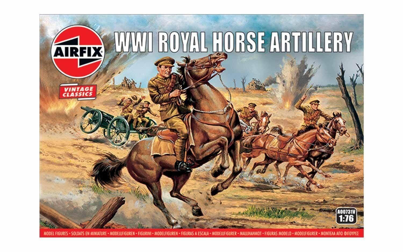 Airfix WW1 Royal Horse Artillery 1:76 Scale Plastic Model Kit