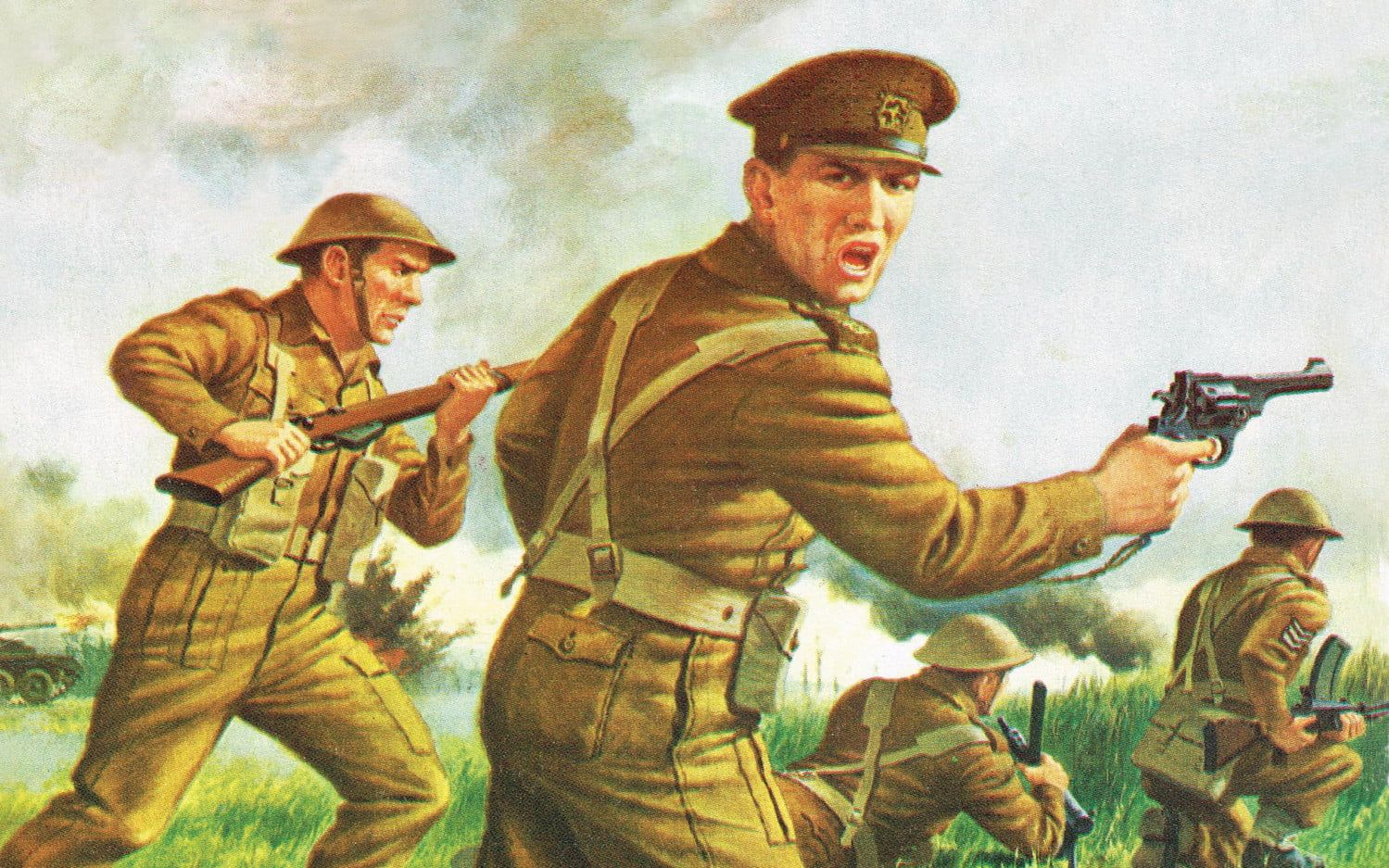 Airfix WWII British Infantry 1:76 Scale Plastic Model Kit