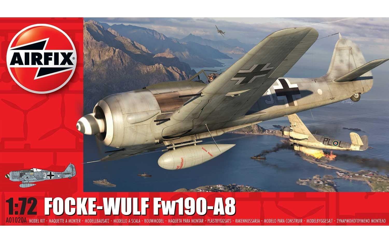 Airfix Focke-Wulf FW190A-8 1 72