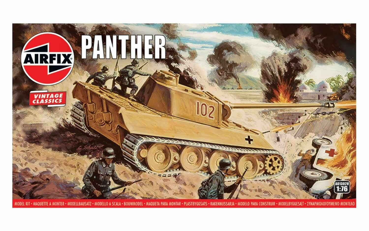 Airfix Panther 1:76 Scale Plastic Model Kit