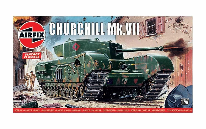 Airfix Churchill Mk.VII 1:76 Scale