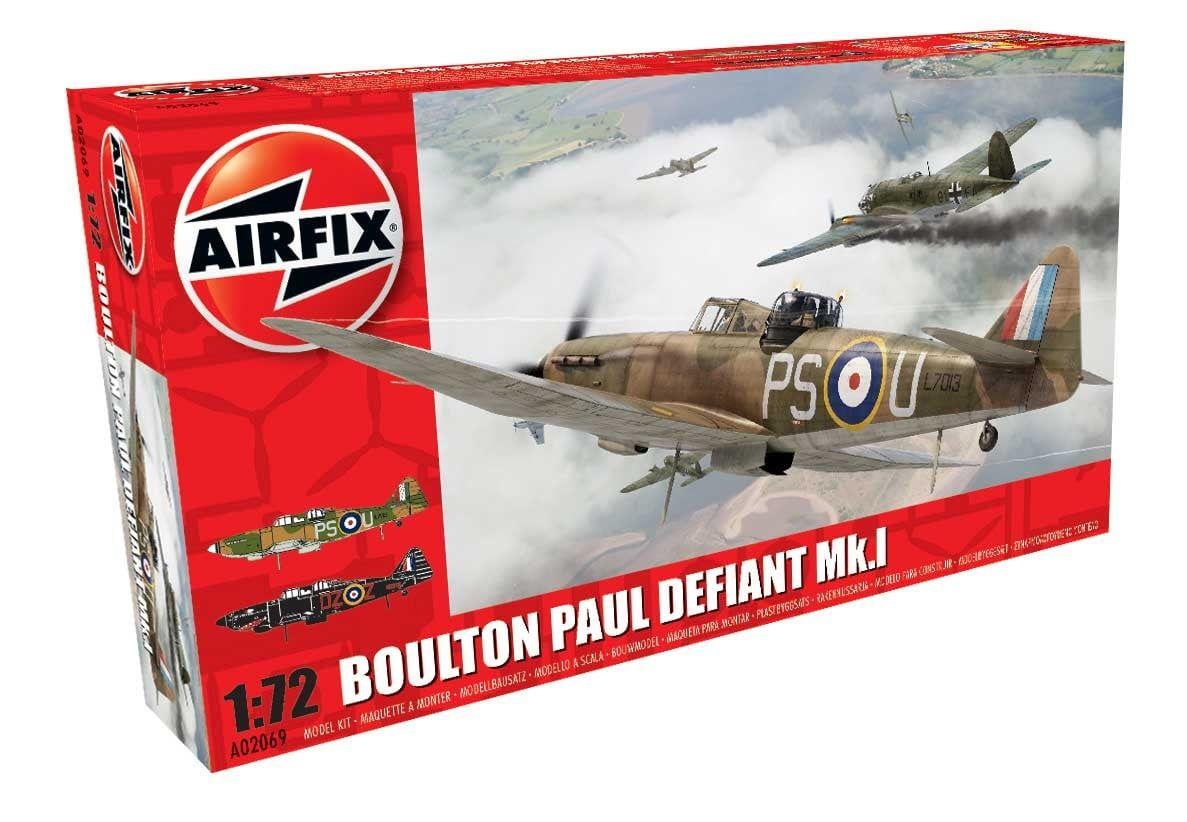 Airfix Boulton Paul Defiant Mk.I 1 72 Scale Plastic Model Kit