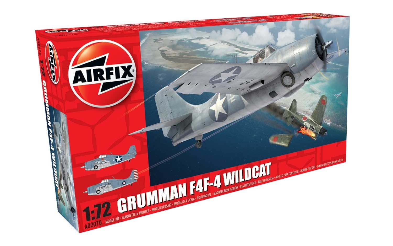 Airfix Grumman F4F-4 Wildcat 1:72 Scale Plastic Model Kit