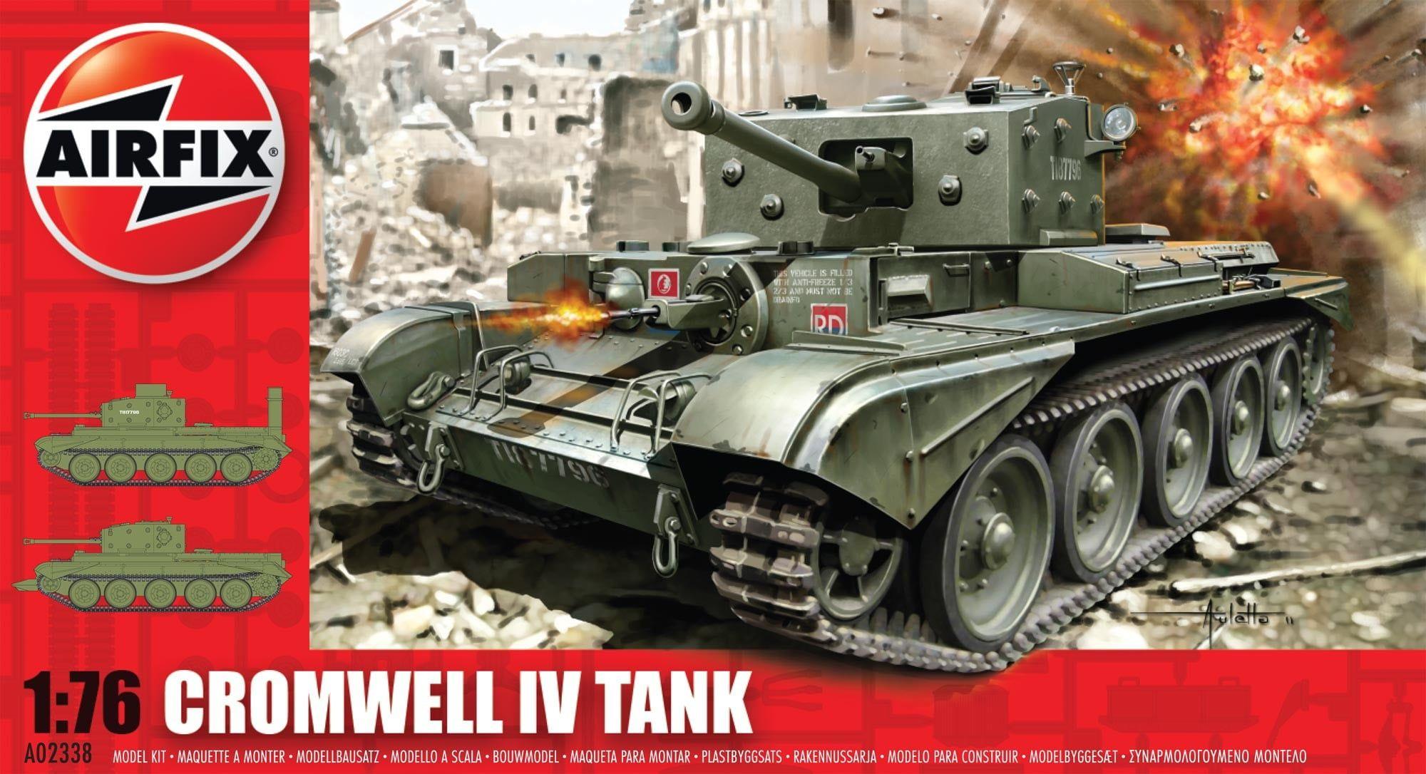 Airfix Cromwell IV Tank 1:76