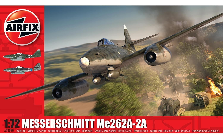 Airfix Messerschmitt ME262A-2A 1:72 Scale Plastic Model Kit