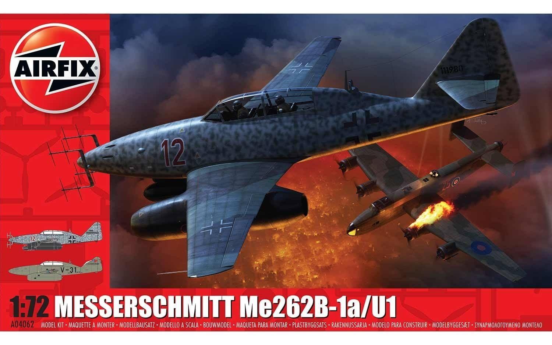 Airfix Messerschmitt Me262-B1a  1:72 Scale Plastic Model Kit