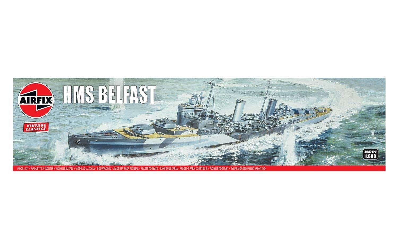 Airfix HMS Belfast 1:600 Scale Plastic Model Kit