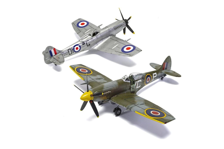 Airfix Supermarine Spitfire XIV  1:48 Scale Plastic Model Kit