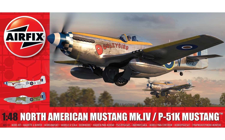 Airfix North American Mustang Mk.IV/P-51K Mustang
