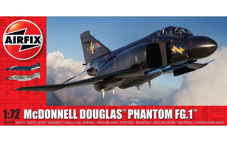 Airfix McDonnell Douglas FG.1 Phantom - RAF 1:72 Scale