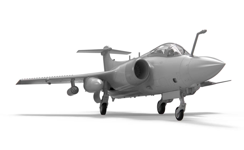 Airfix Blackburn Buccaneer S Mk.2 RN 1:72 Scale Plastic Model Kit