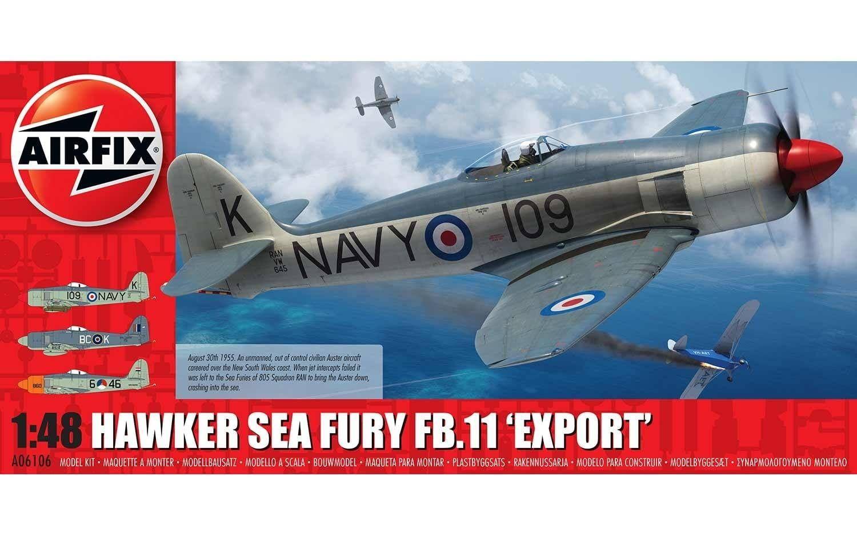 Airfix Hawker Sea Fury FB.11 Export