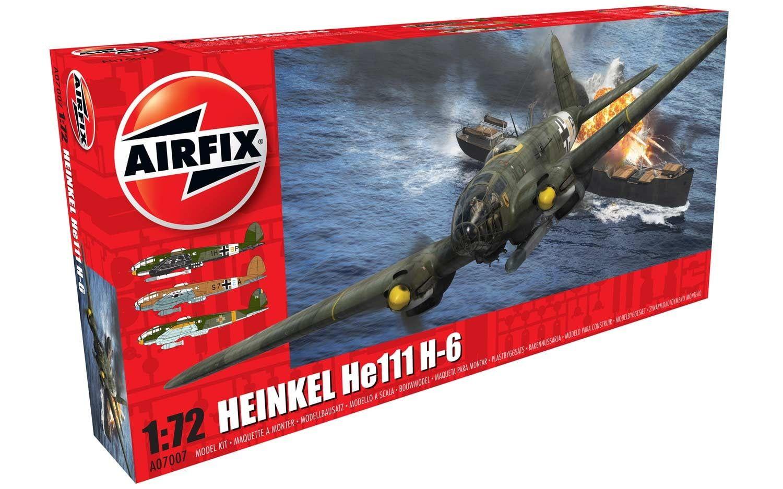 Airfix Heinkel He.111 H-6  1:72 Scale Plastic Model Kit