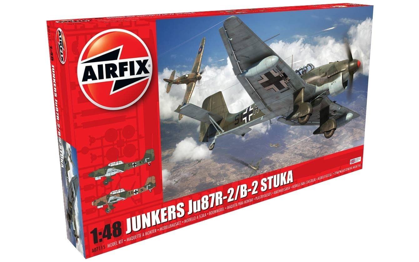 Airfix Junkers Ju87R-2/B-2 Stuka