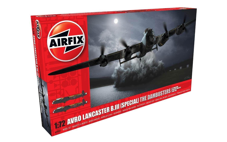 Airfix Avro Lancaster B.III (75th Anniversary) The Dambusters  1:72 Scale Plastic Model Kit
