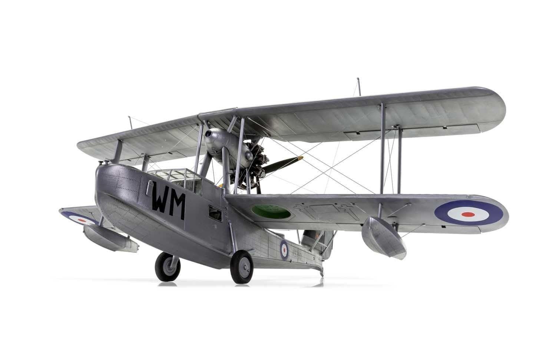 Airfix Supermarine Walrus 'Silver Wings'  1:48 Scale Plastic Model Kit