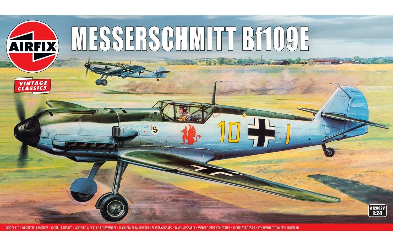 Airfix 1/24 Scale Messerschmitt Bf109E Plastic Model Kit