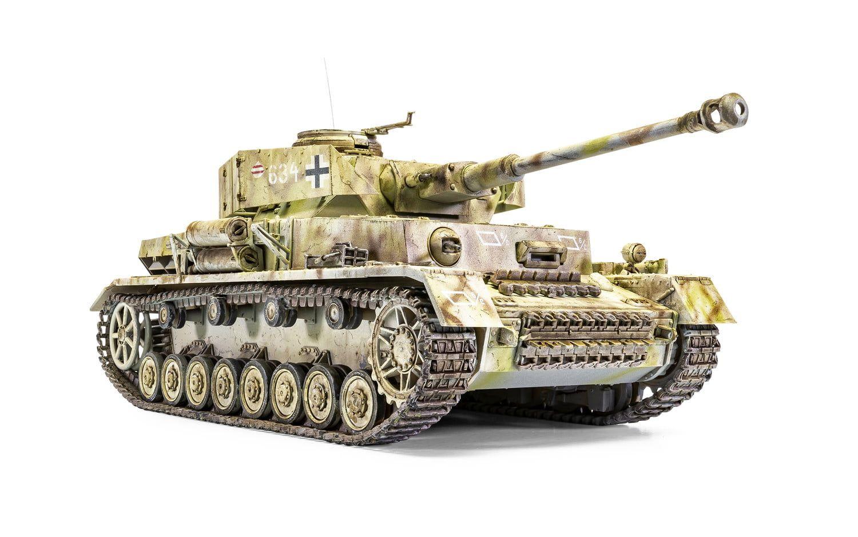 "Airfix Panzer IV Ausf.H ""Mid Version"" 1:35 Scale Plastic Model Kit"