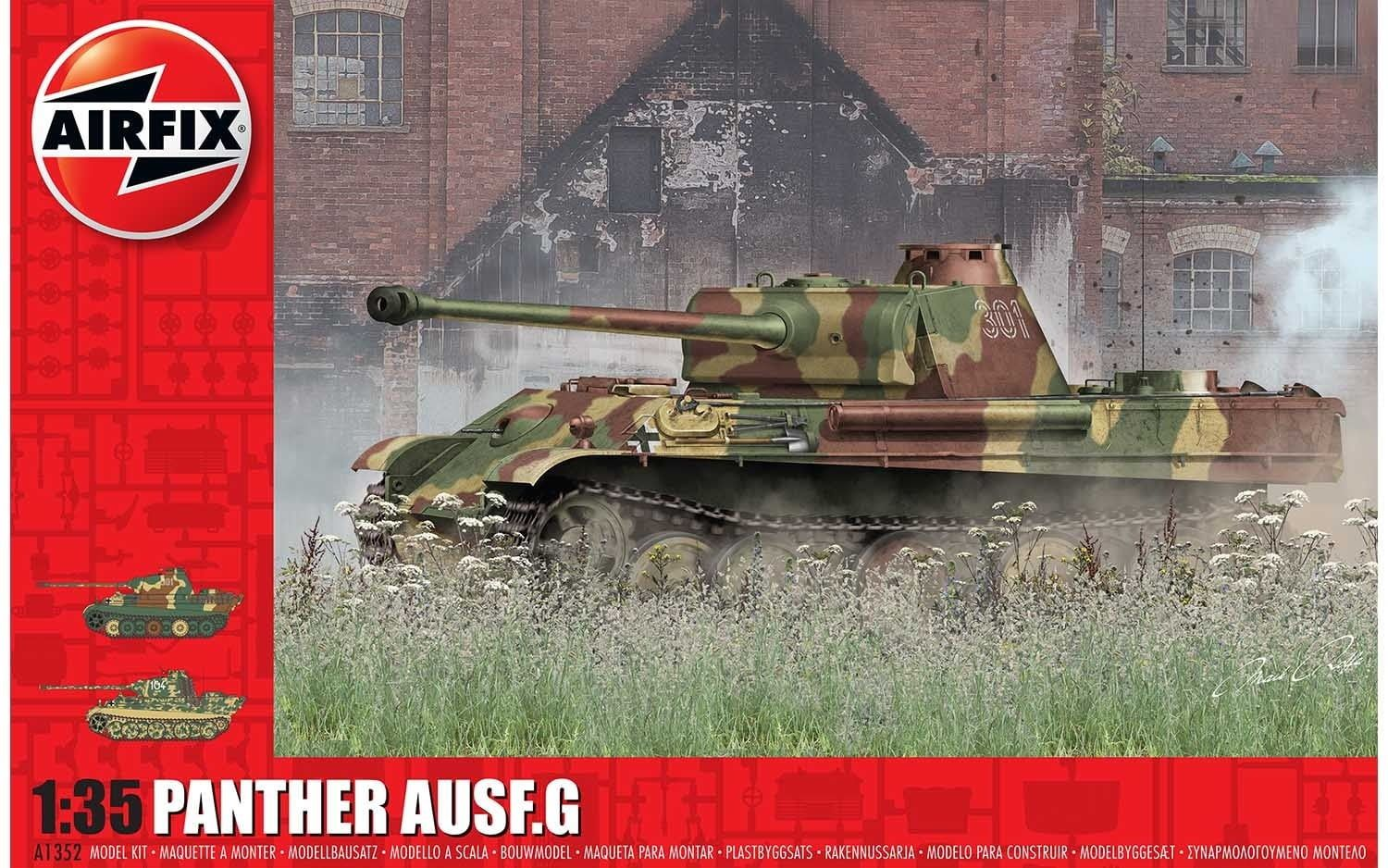 Airfix Panther Ausf G. 1:35 Scale Plastic Model Kit