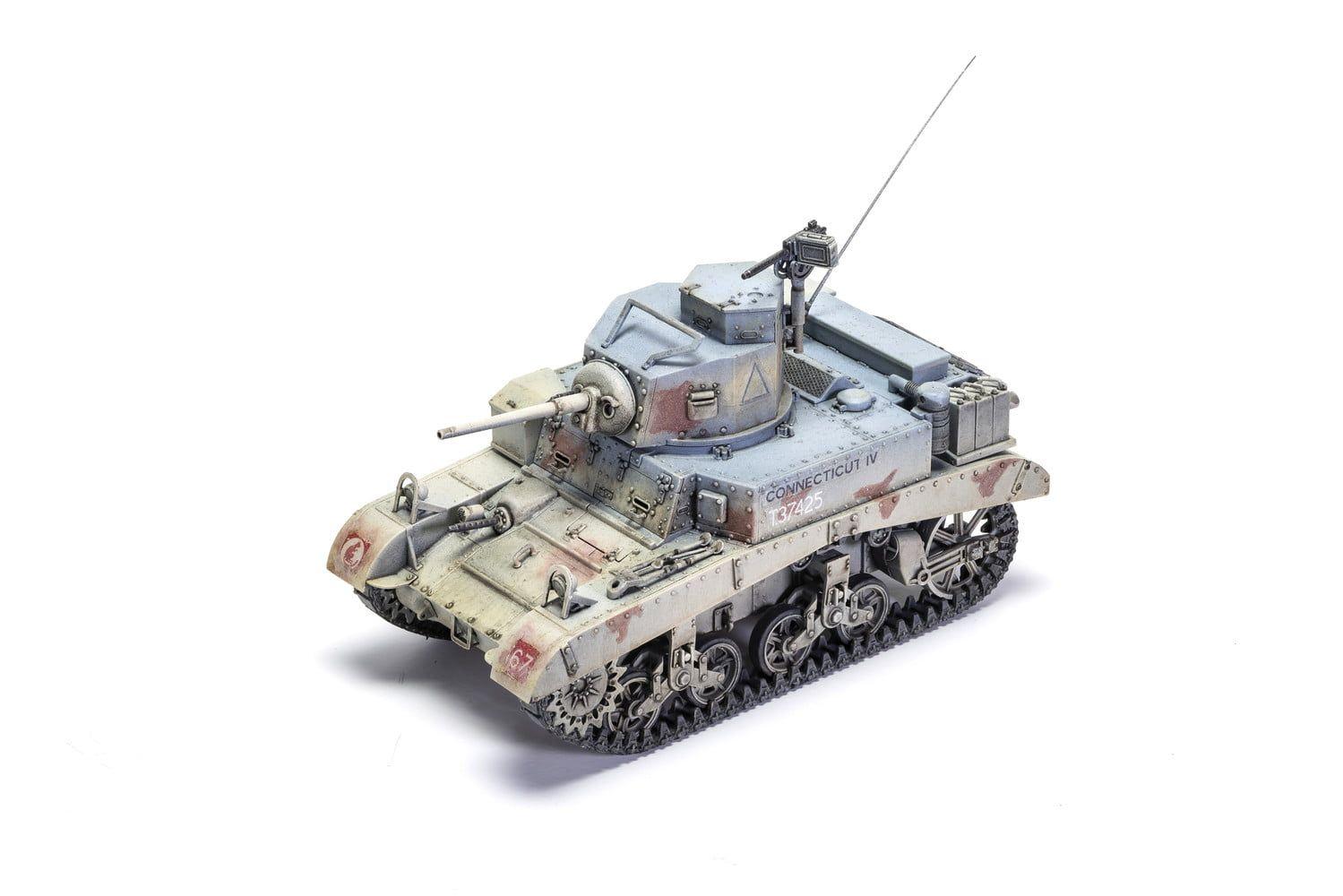 "Airfix M3 Stuart ""Honey"" (British Version)  1:35 Scale Plastic Model Kit"