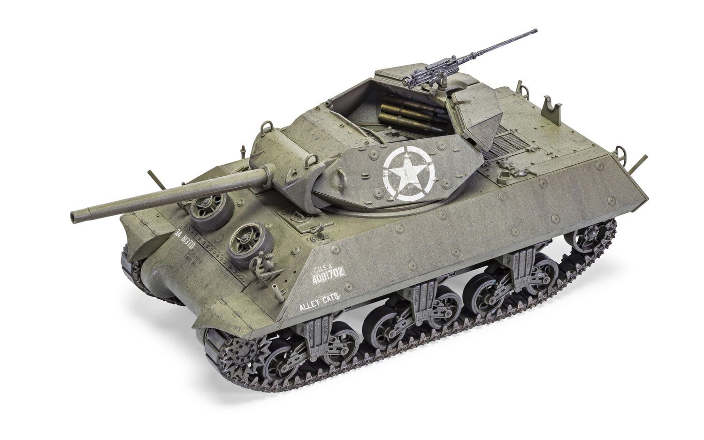 Airfix M10 GMC (U.S. Army)  1:35 Scale Plastic Model Kit