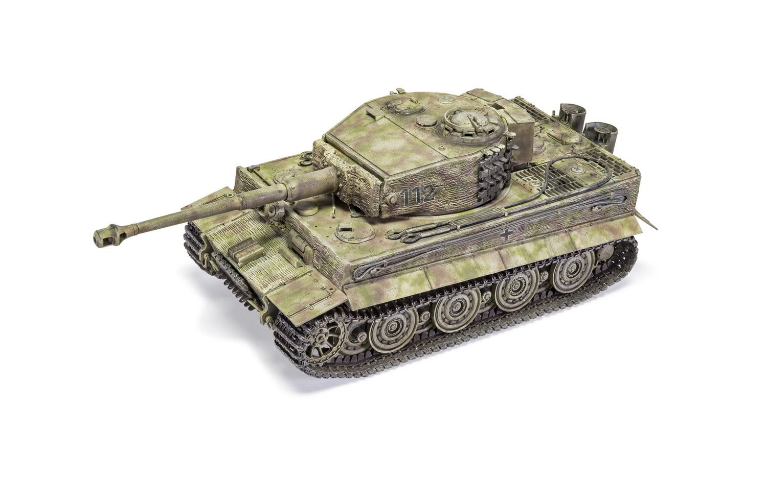 """Airfix Tiger-1 """"Late Version"""" 1:35 Scale Plastic Model Kit"""