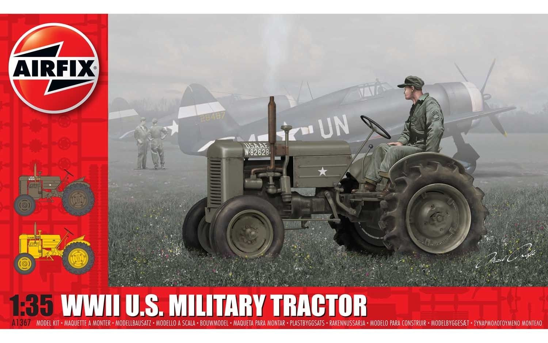 Airfix U.S. Tractor  1:35 Scale Plastic Model Kit
