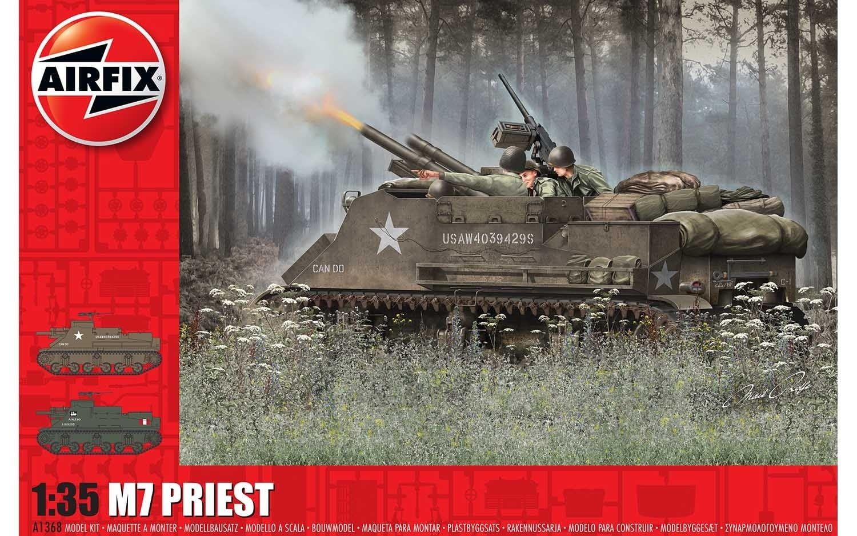 Airfix M7 Priest