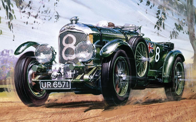 Airfix 1930 4.5 litre Bentley 1:12 Scale