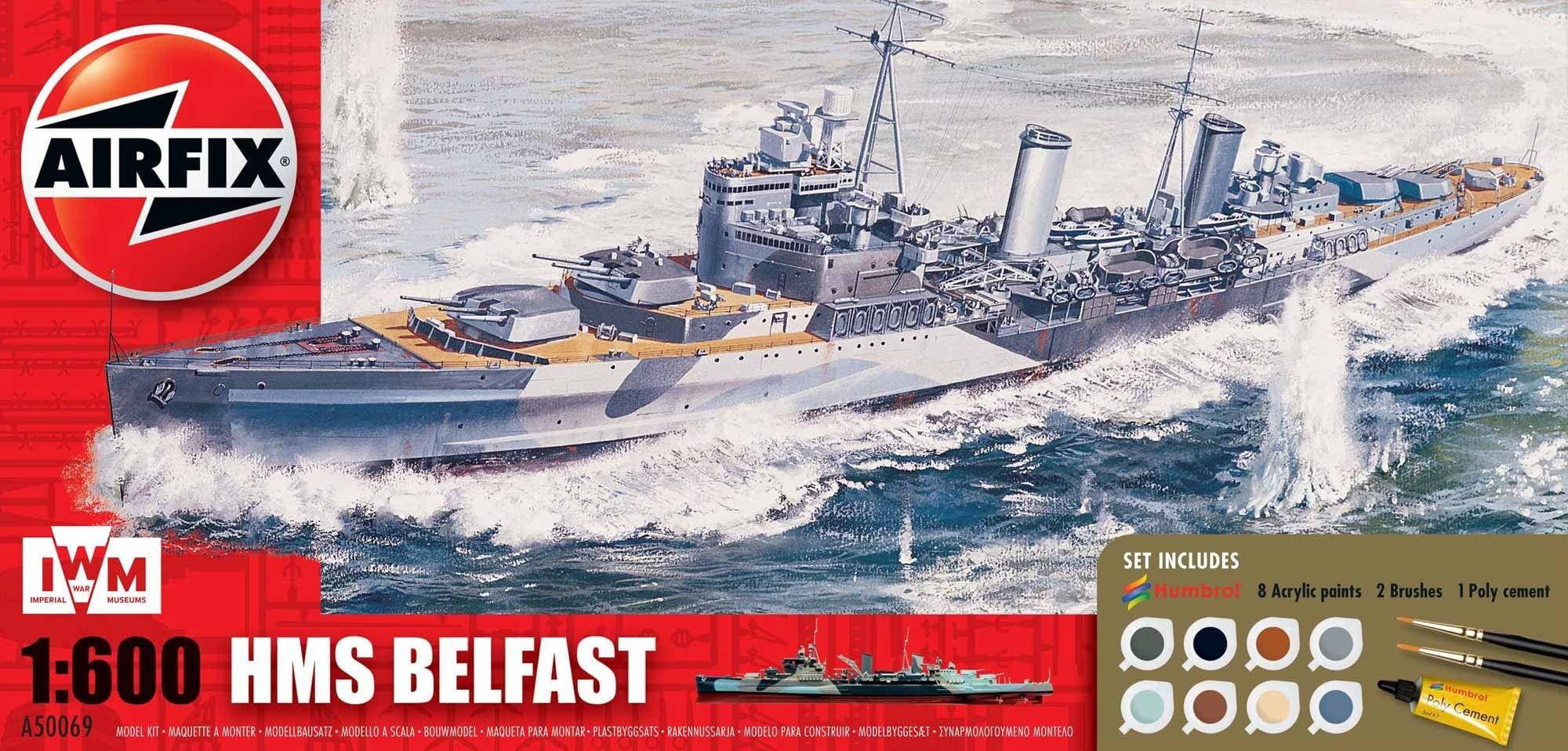Airfix HMS Belfast Gift Set