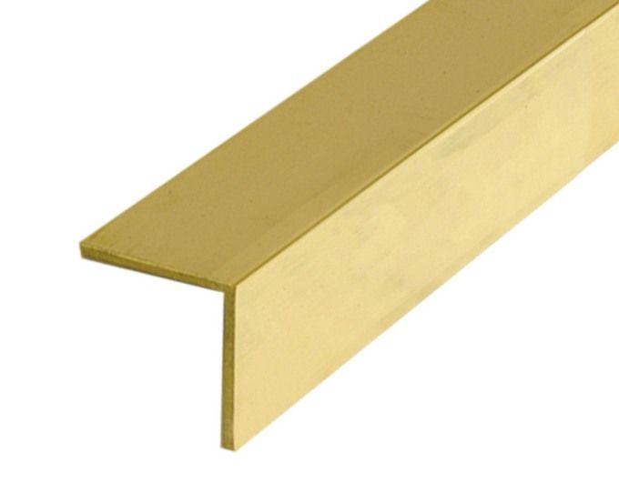 Albion Alloys Brass L Shape Angles 305mm Length