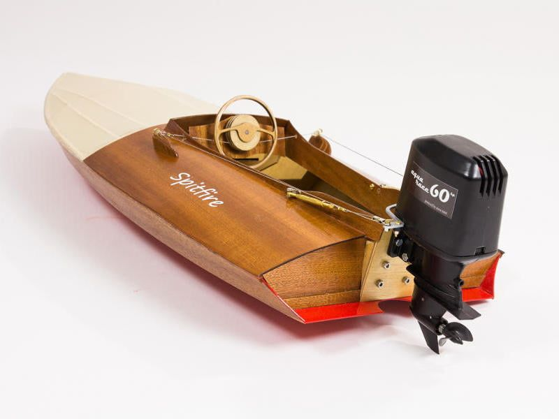 Aeronaut Spitfire Vintage Outboard Racing Boat Model Boat Kit