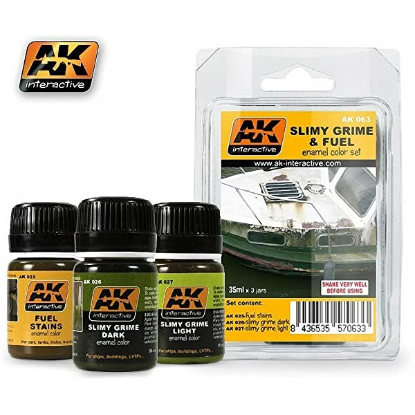 AK Interactive Slimy Grime and Fuel Set