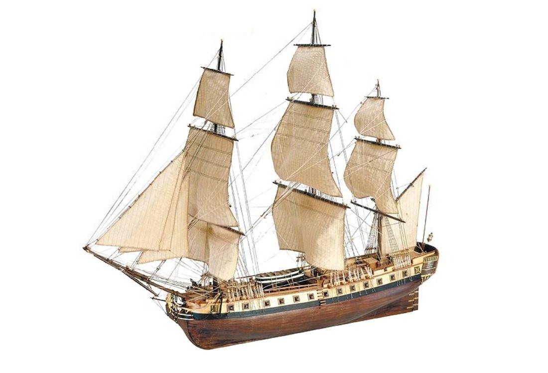Artesania Latina Hermione La Fayette 1780 1:89 Scale Model Ship Kit