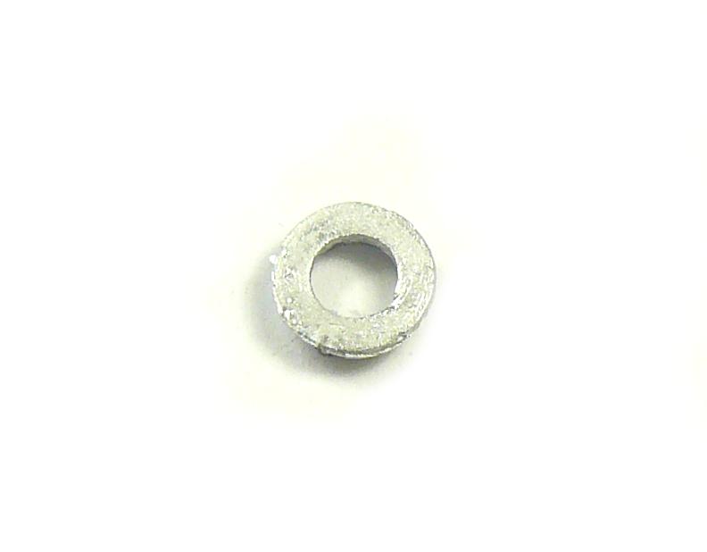 8 x White Metal S Portholes 8mm