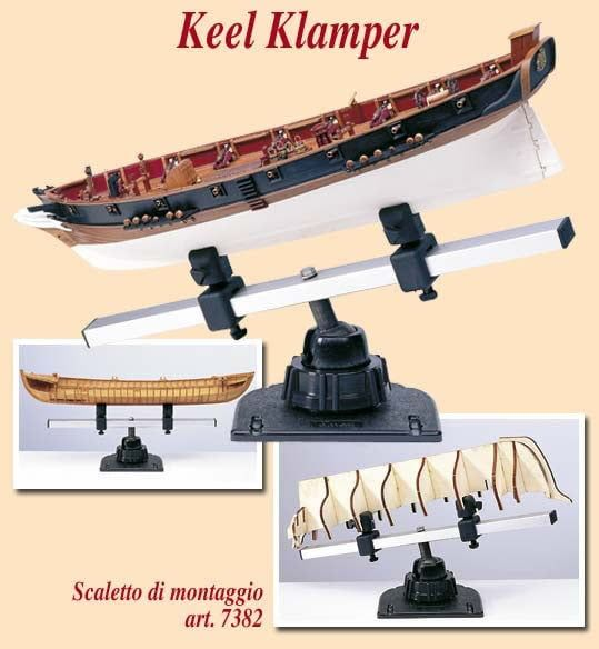 Amati Keel Clamp