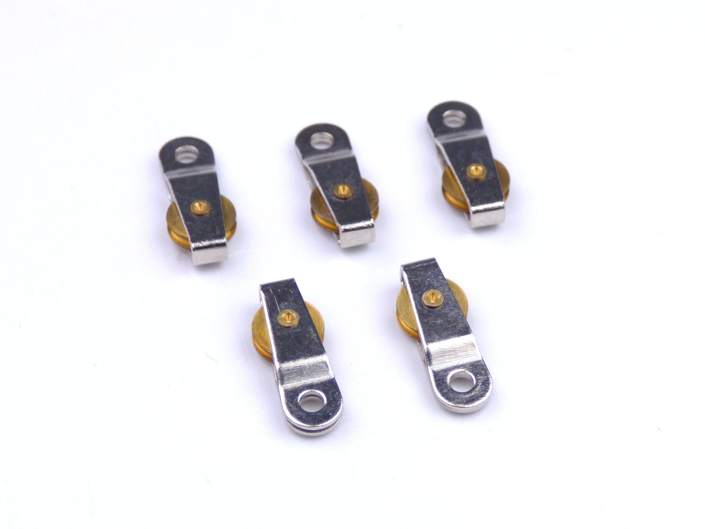 Aero Naut Single Sheave 15mm Blocks